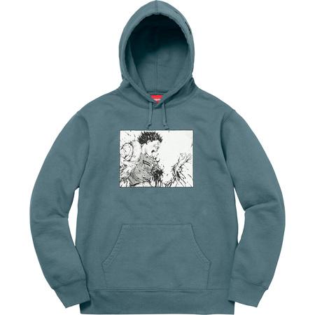 AKIRA/Supreme Arm Hooded Sweatshirt (Slate)