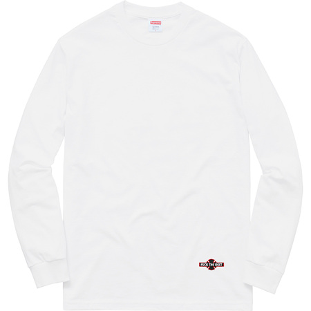 Supreme®/Independent® Fuck The Rest L/S Tee (White)