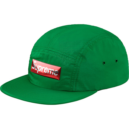 Liquid Metal Logo Camp Cap (Green)