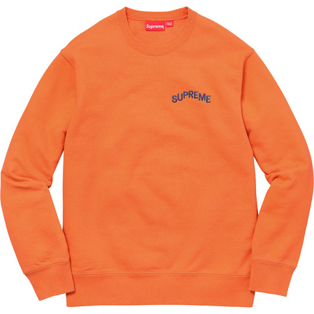 Step Arc Crewneck (Bright Orange)