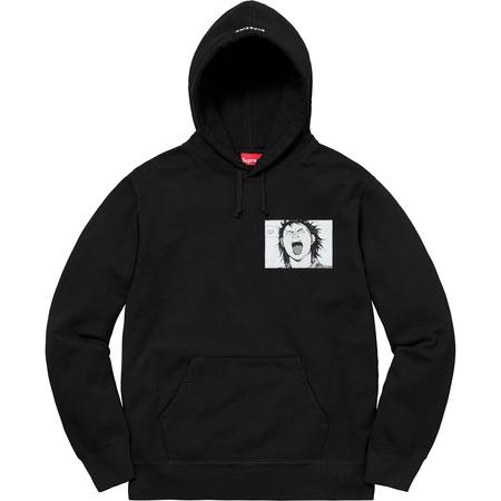 AKIRA/Supreme Patches Hooded Sweatshirt (Black)