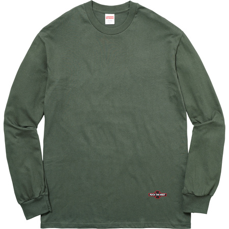 Supreme®/Independent® Fuck The Rest L/S Tee (Olive Green)