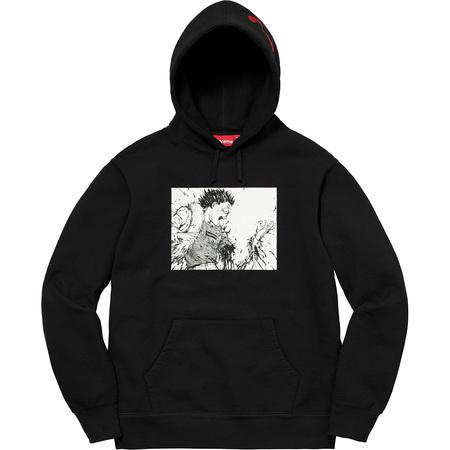 AKIRA/Supreme Arm Hooded Sweatshirt (Black)