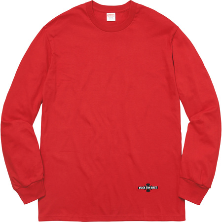 Supreme®/Independent® Fuck The Rest L/S Tee (Red)
