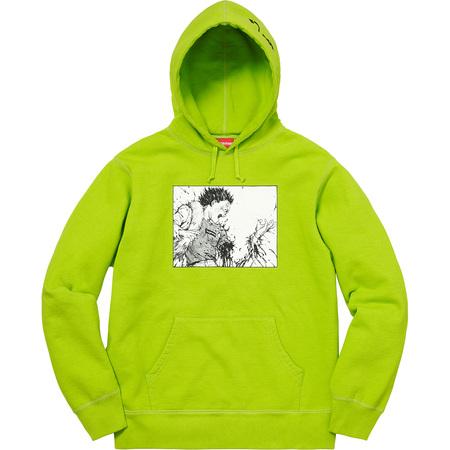 AKIRA/Supreme Arm Hooded Sweatshirt (Lime)