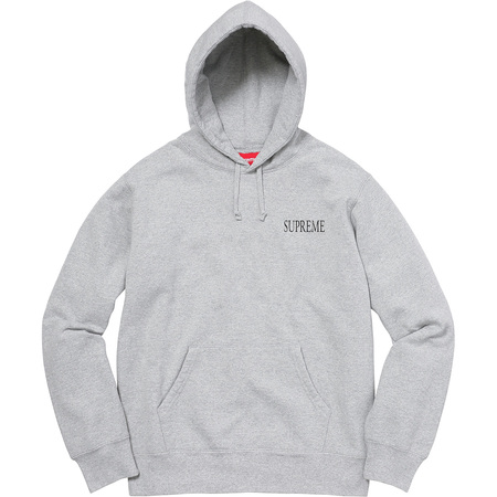 Decline Hooded Sweatshirt (Heather Grey)