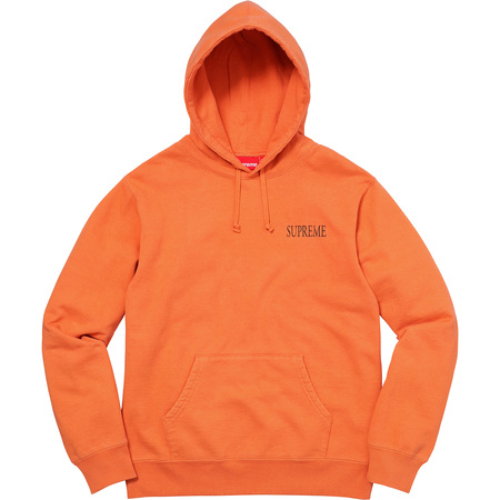 Decline Hooded Sweatshirt (Bright Orange)
