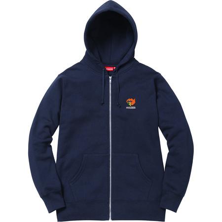Gonz Ramm Zip Up Sweatshirt (Navy)