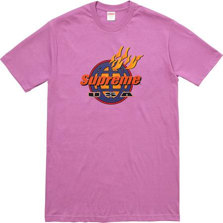 Fire Tee (Light Purple)