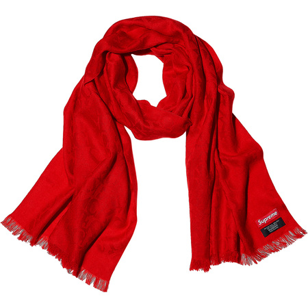 Fuck Wool Scarf (Red)