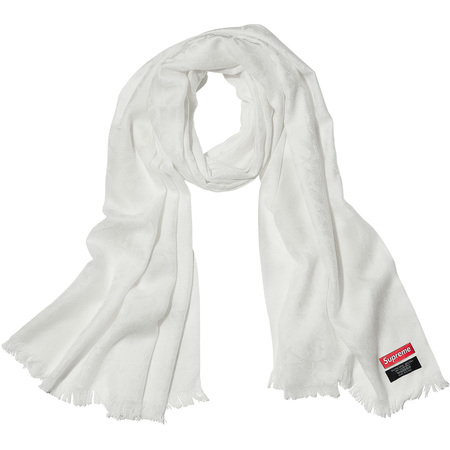 Fuck Wool Scarf (White)