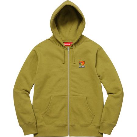 Gonz Ramm Zip Up Sweatshirt (Moss Green)