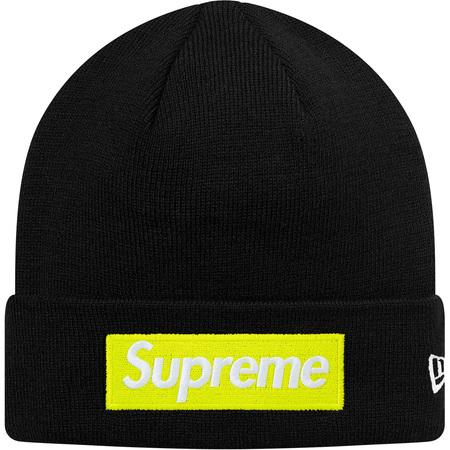 New Era® Box Logo Beanie (Black)