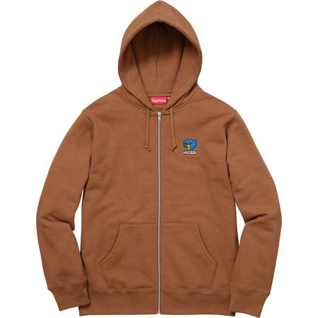 Gonz Ramm Zip Up Sweatshirt (Rust)