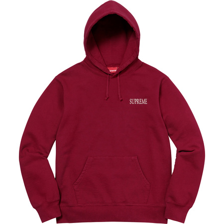 Decline Hooded Sweatshirt (Cardinal)