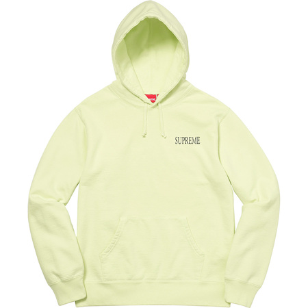 Decline Hooded Sweatshirt (Pale Lime)