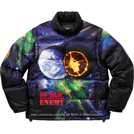 Supreme®/UNDERCOVER/Public Enemy Puffy Jacket (Multi)