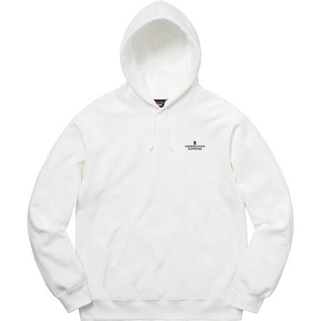 Supreme®/UNDERCOVER/Public Enemy Terrordome Hooded Sweatshirt (White)