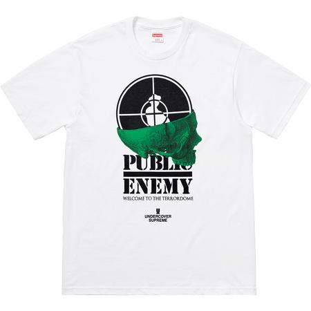 Supreme®/UNDERCOVER/Public Enemy Terrordome Tee (White)