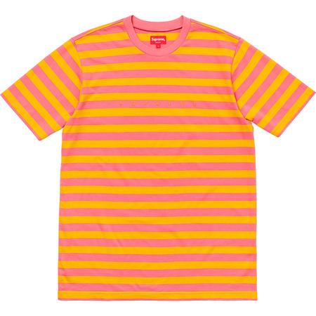 Bar Stripe Tee (Pink)