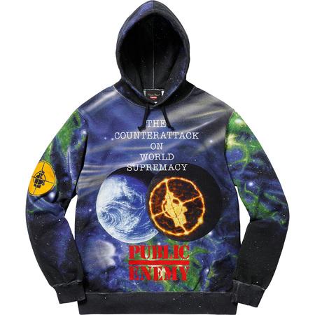 Supreme®/UNDERCOVER/Public Enemy Hooded Sweatshirt (Multi)