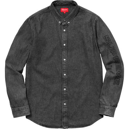 Denim Shirt (Black)