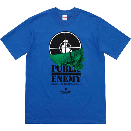 Supreme®/UNDERCOVER/Public Enemy Terrordome Tee (Royal)