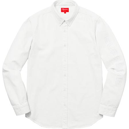 Denim Shirt (White)
