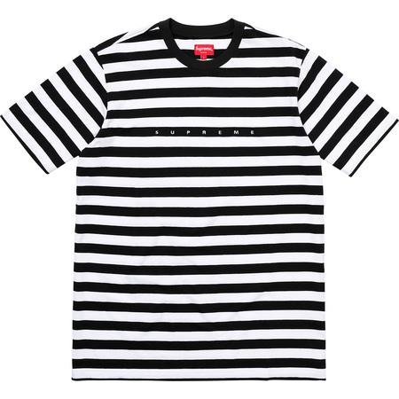 Bar Stripe Tee (Black)