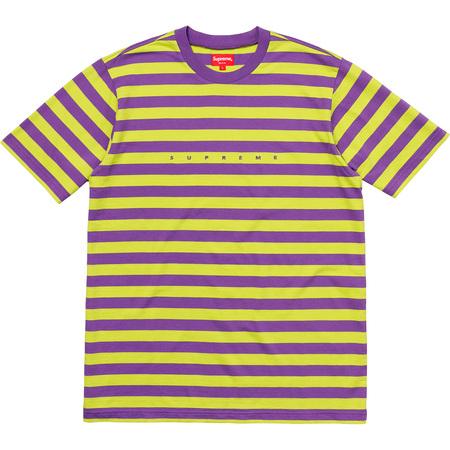 Bar Stripe Tee (Purple)