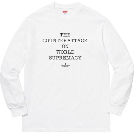 Supreme®/UNDERCOVER/Public Enemy Counterattack L/S Tee (White)