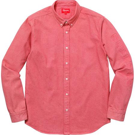 Denim Shirt (Pink)