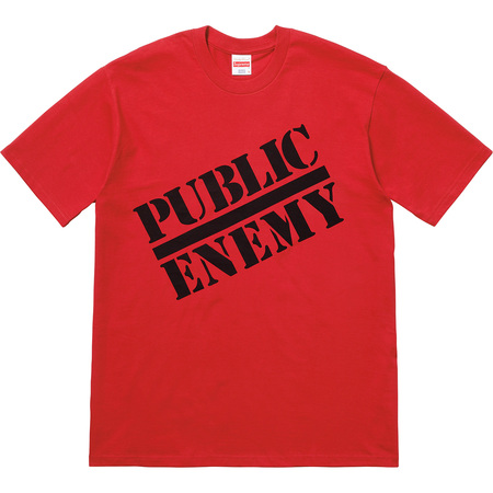 Supreme®/UNDERCOVER/Public Enemy Tee (Red)