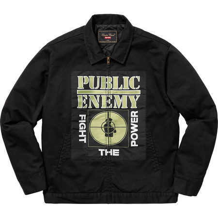 Supreme®/UNDERCOVER/Public Enemy Work Jacket (Black)