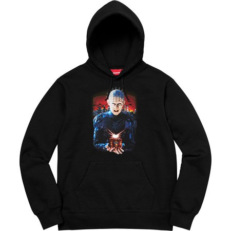 Supreme/Hellraiser Hell on Earth Hooded Sweatshirt (Black)