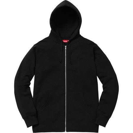 Supreme/Hellraiser Pinhead Zip Up Hooded Sweatshirt (Black)