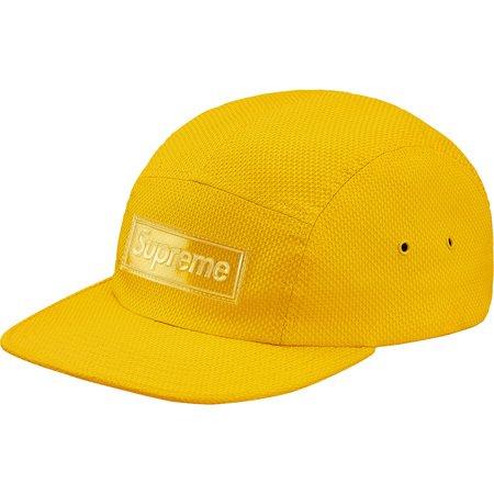 Nylon Pique Camp Cap (Yellow)