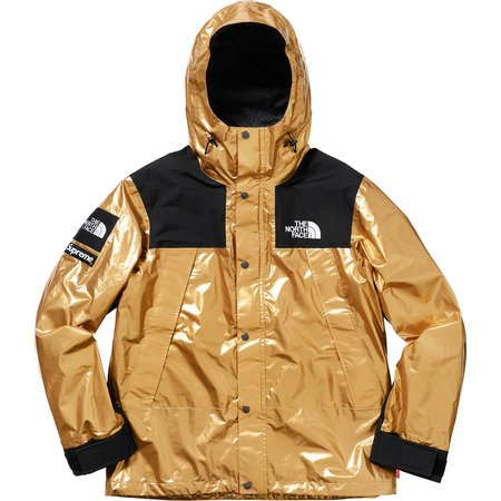Supreme®/The North Face® Metallic Mountain Parka (Gold)