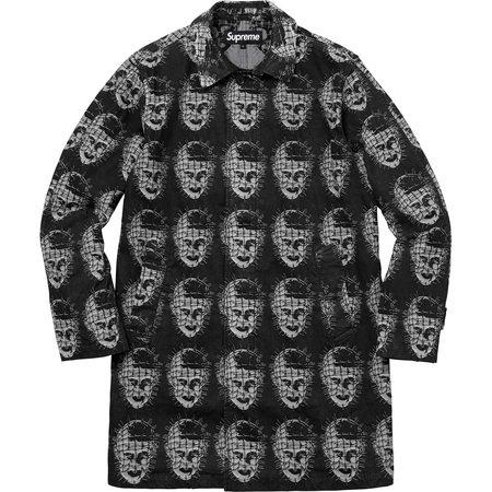 Supreme/Hellraiser Trench Coat (Black)