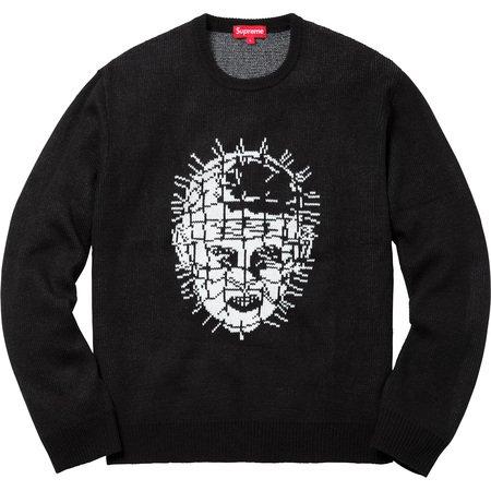 Supreme/Hellraiser Sweater (Black)
