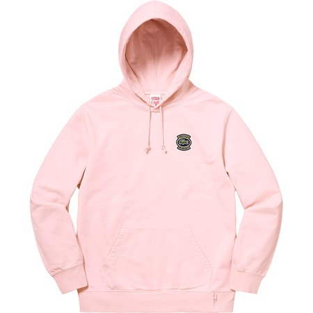 Supreme®/LACOSTE Hooded Sweatshirt (Pink)