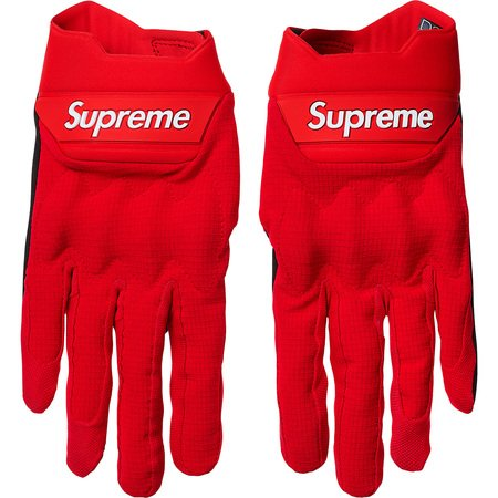 Supreme®/Fox Racing® Bomber LT Gloves (Red)