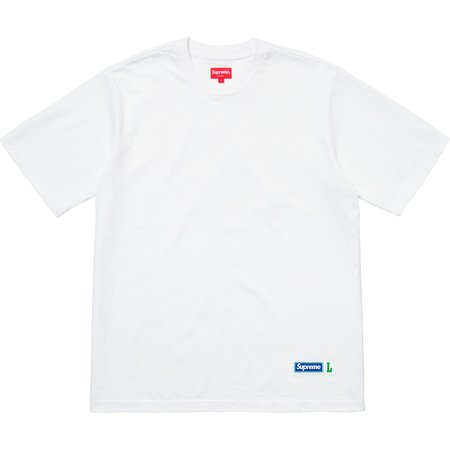 Athletic Label S/S Top (White)
