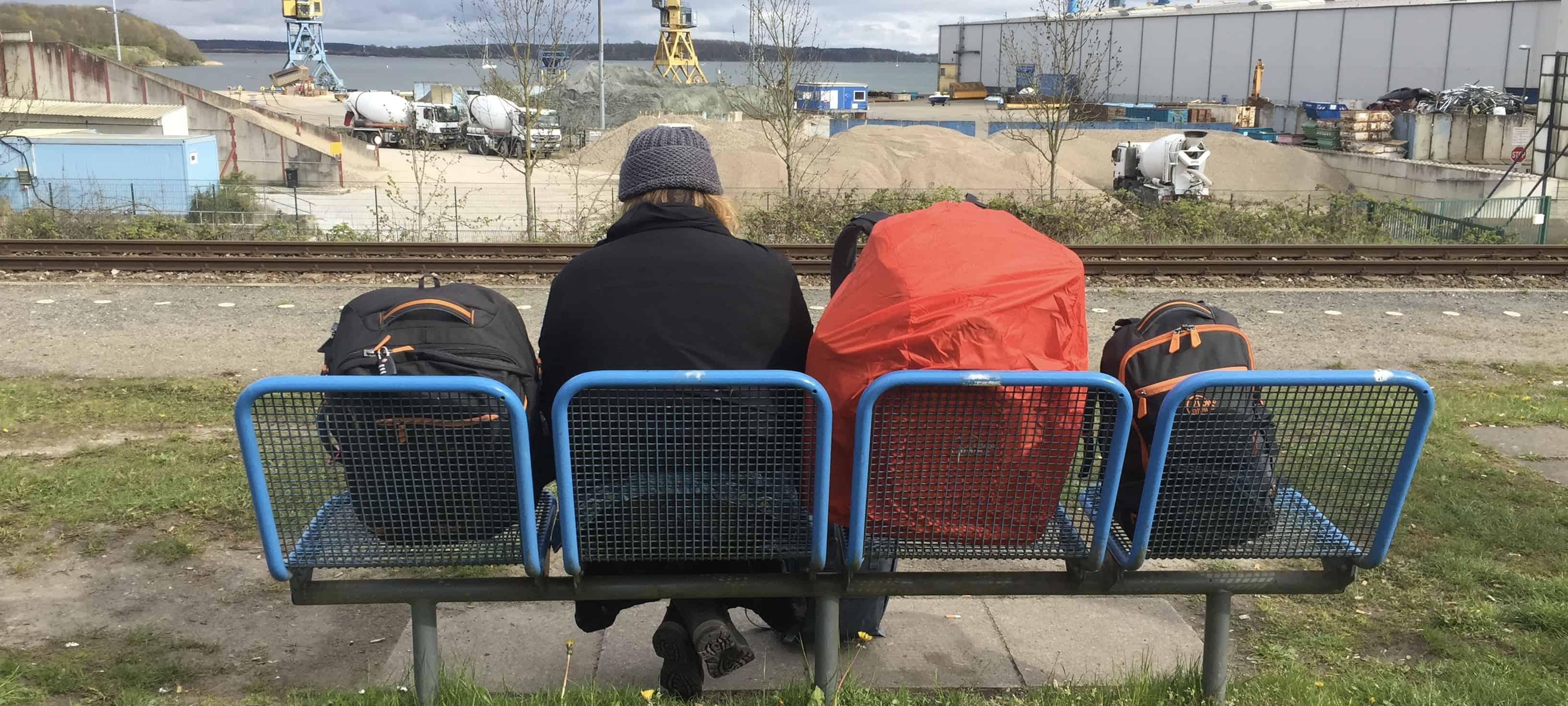 Stralsund Train Station Hannah Cox betternotstop