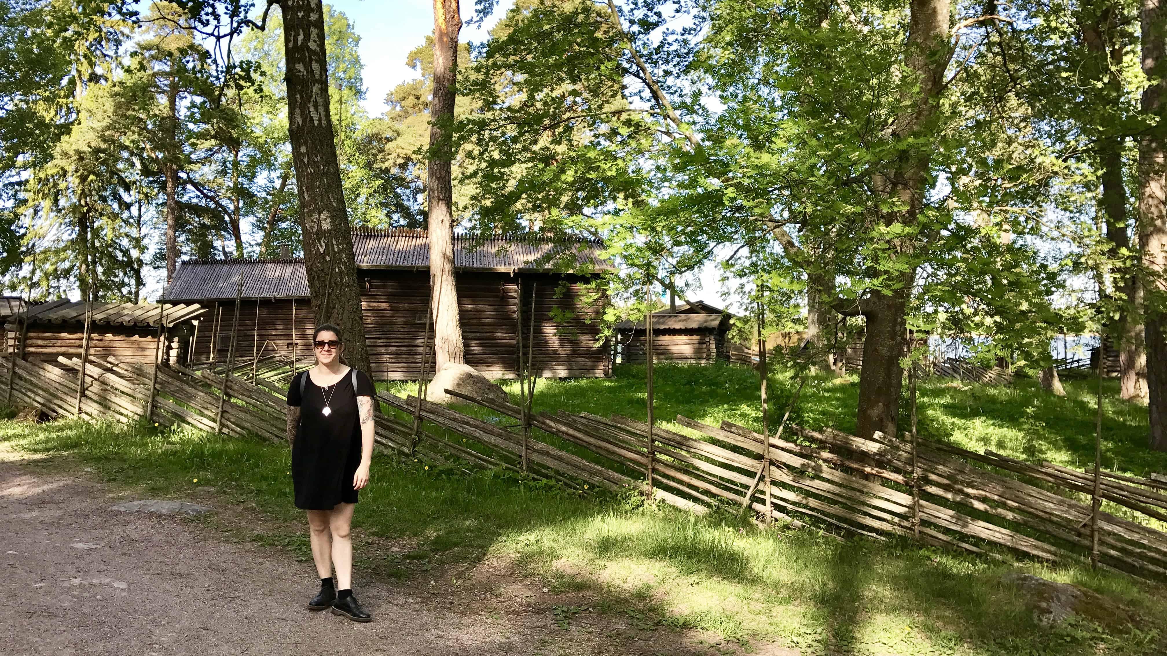 Hannah log cabin