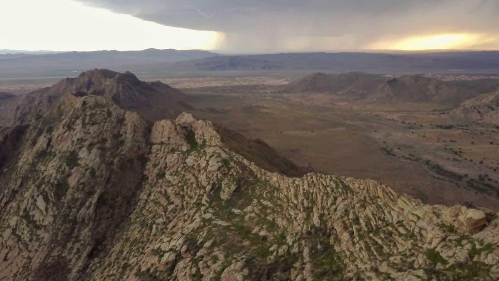 Mavic Pro Drone Mountains Lightening betternotstop Mongolia Nomads