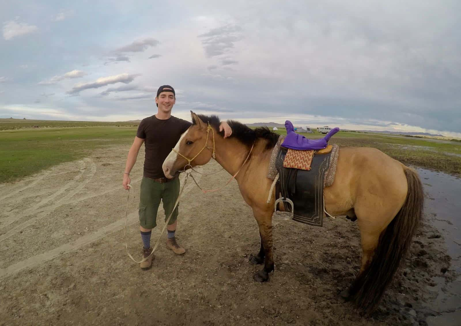 Phil Big Horse Small Mongolia Nomads betternotstop
