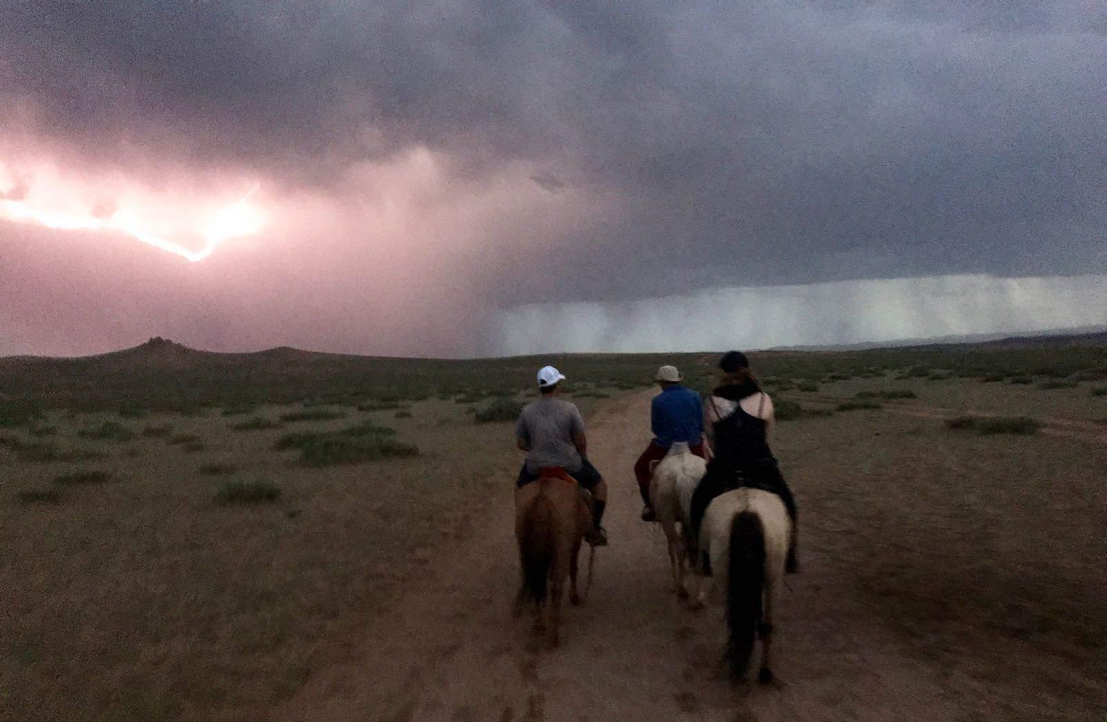 Lightening Mongolia Nomads Hannah betternotstop Horse trek