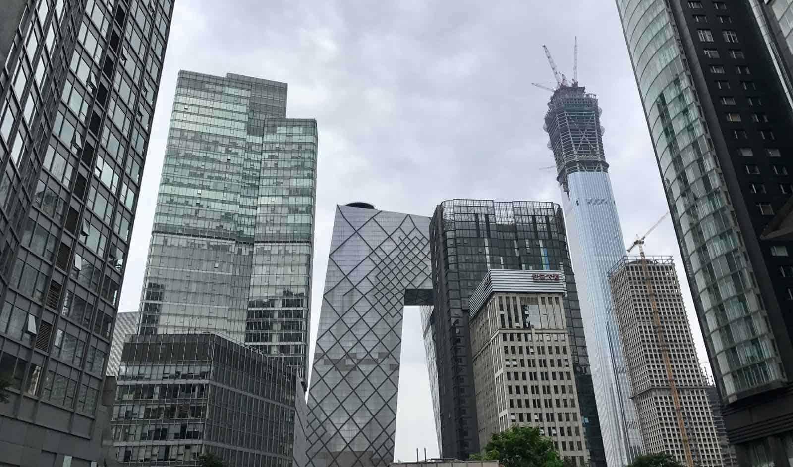 Beijing Buildings China betternotstop