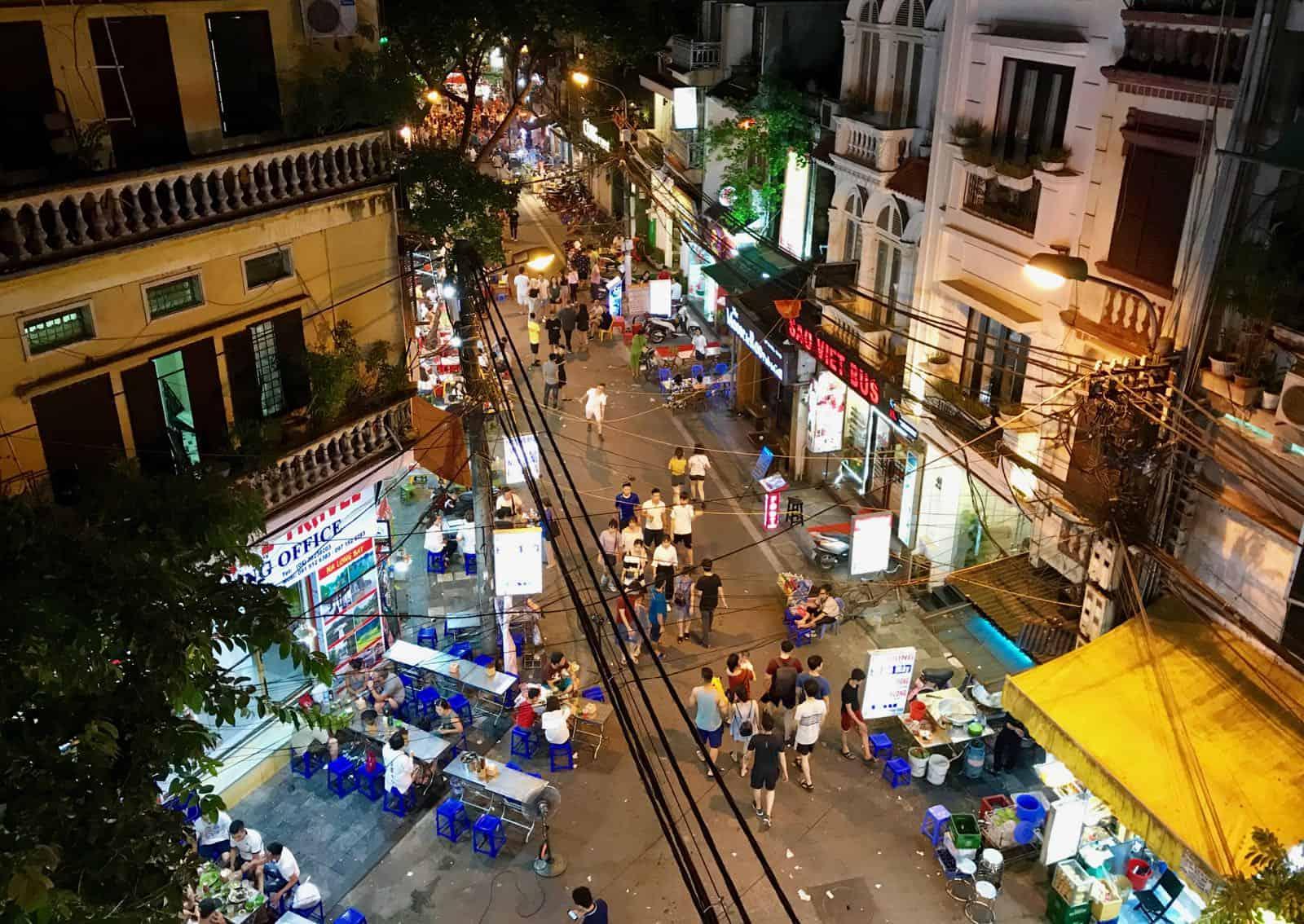 Hanoi Vietnam Old Quarter betternotstop